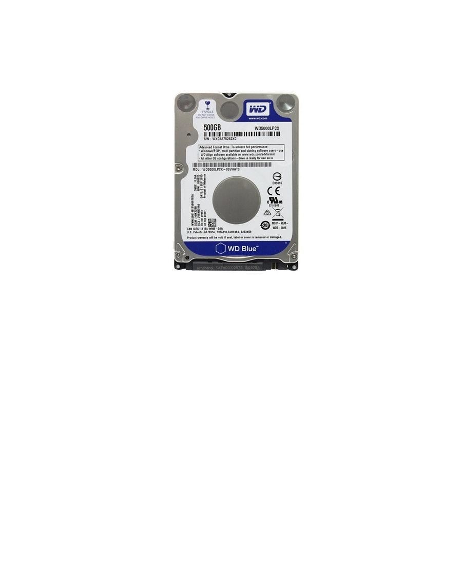 Hard Disk Western Digital WD5000LPCX 500Gb