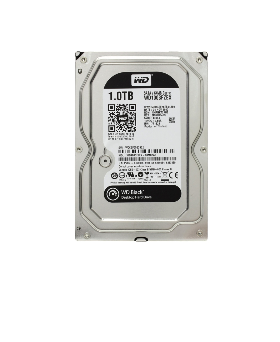 Hard Disk Western Digital 1Tb WD1003FZEX Black