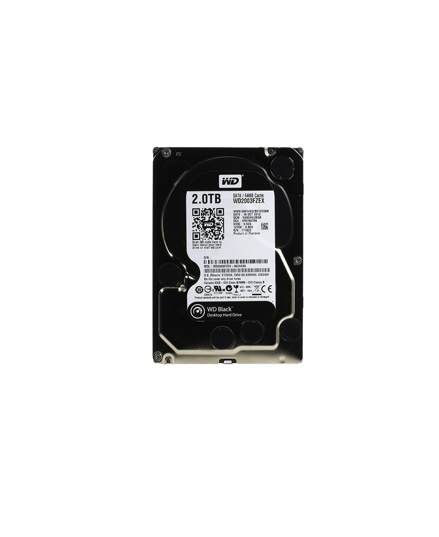 Hard Disk Western Digital 2Tb WD2003FZEX Black