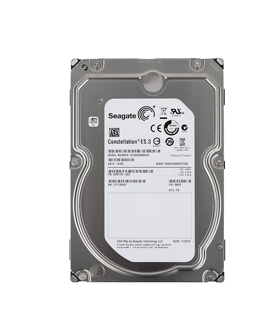 Hard Disk Seagate 3Tb ST3000NM0033 Constellation