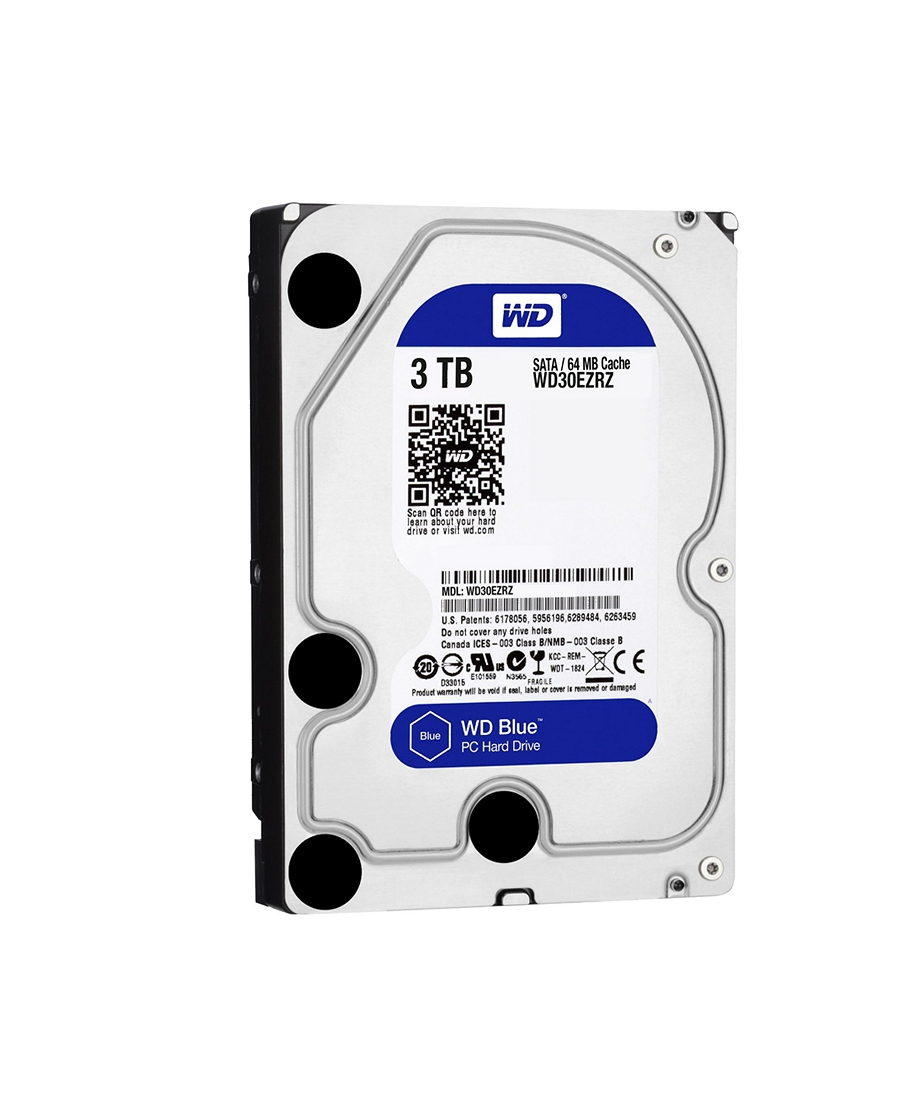 Hard Disk Western Digital 3Tb WD30EZRZ Blue