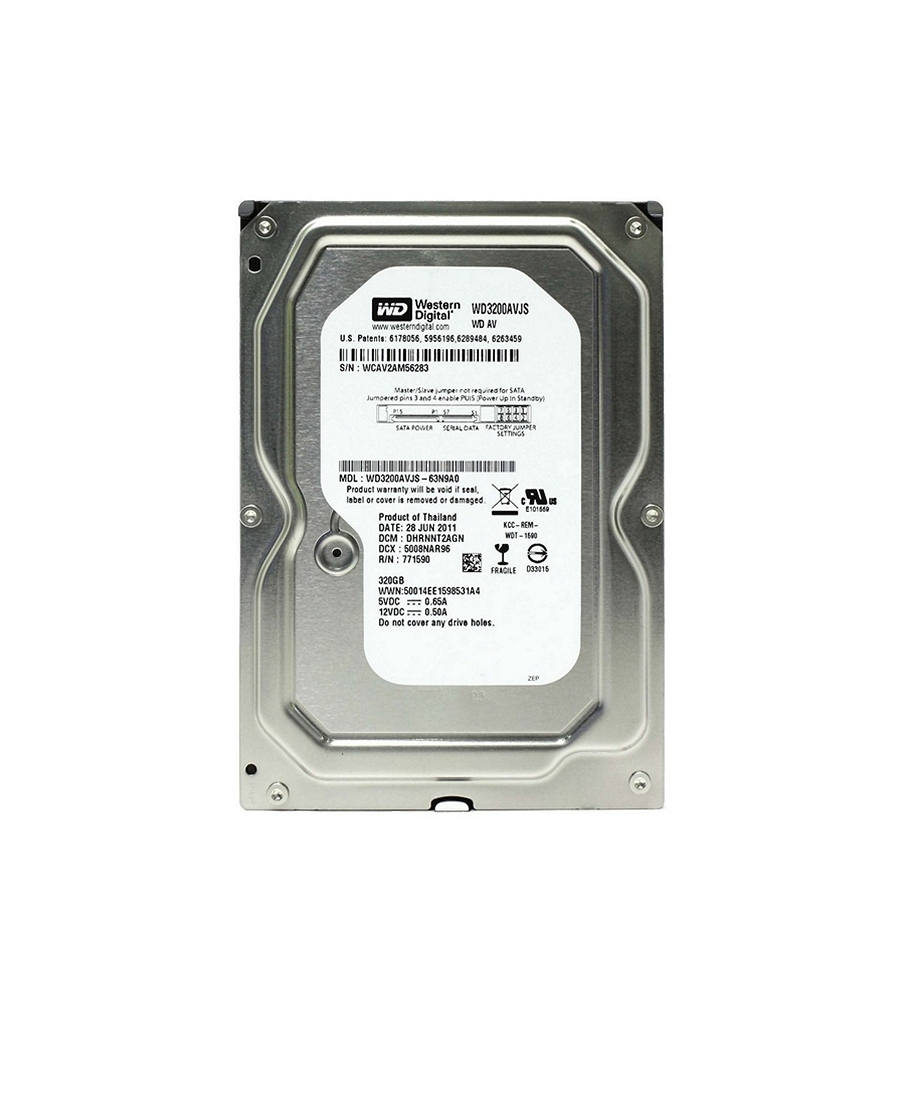 Hard Disk Western Digital 320Gb WD3200AVJS