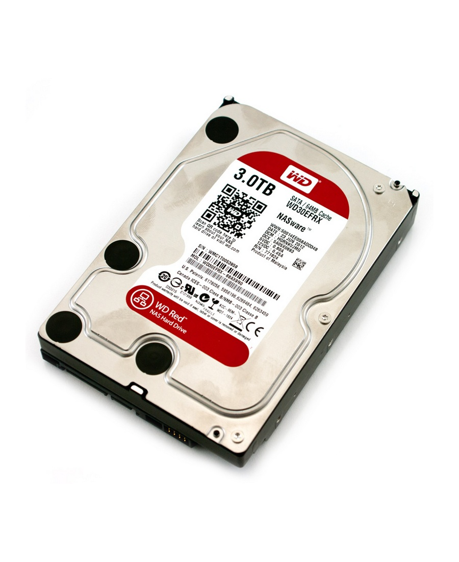 Hard Disk Western Digital 3Tb WD30EFRX Red