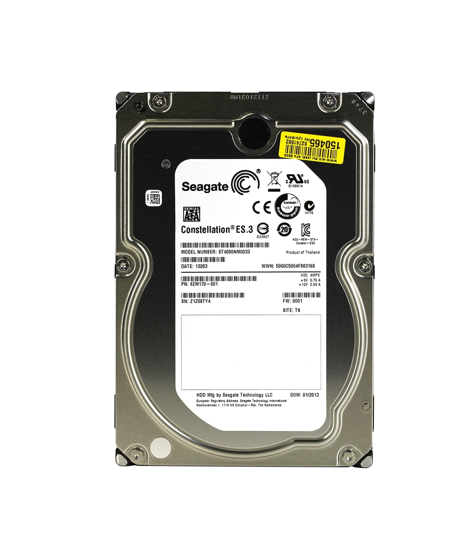 Hard Disk Seagate 4Tb ST4000NM0033 Constellation