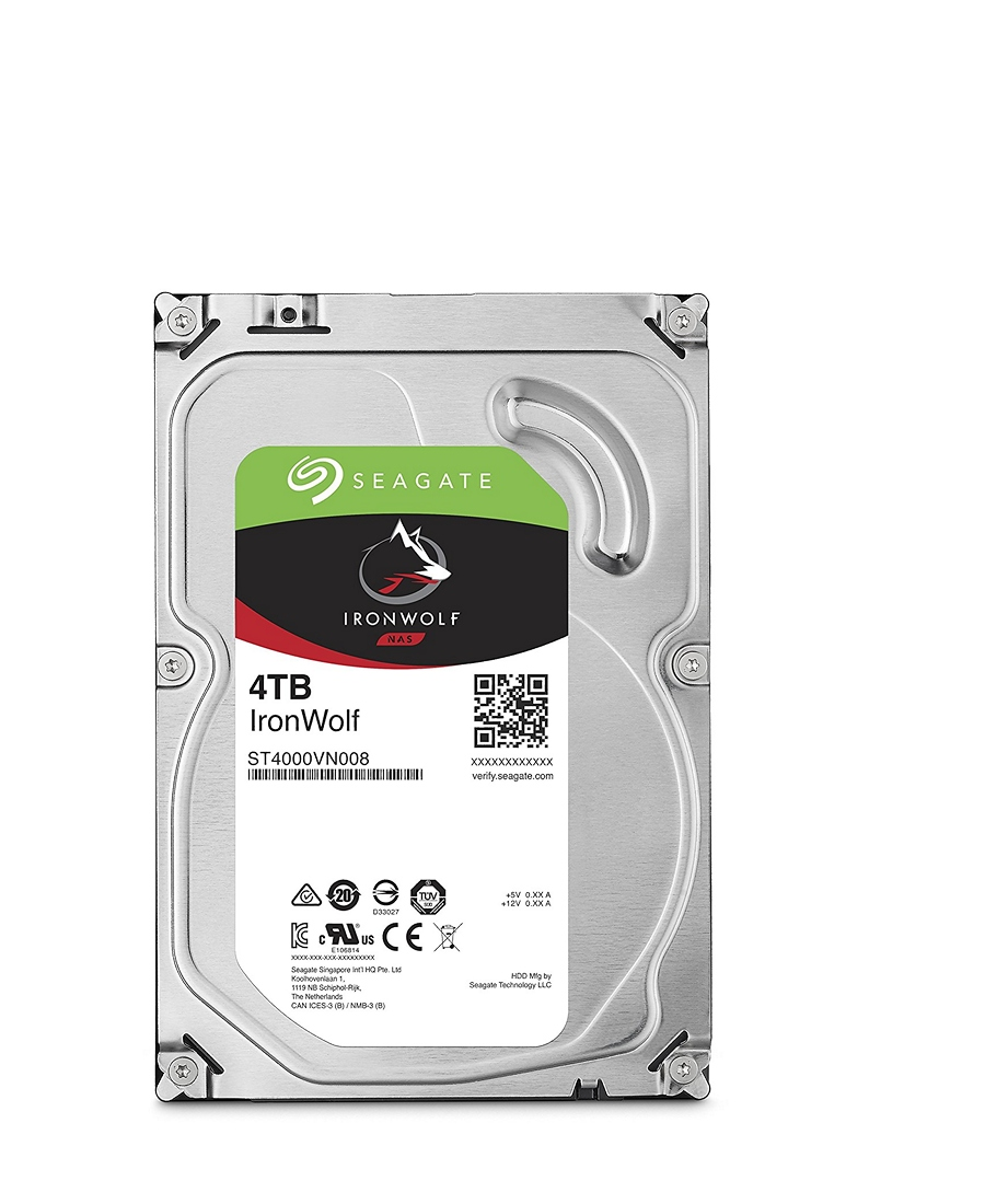 Hard Disk Seagate 4Tb ST4000VN008