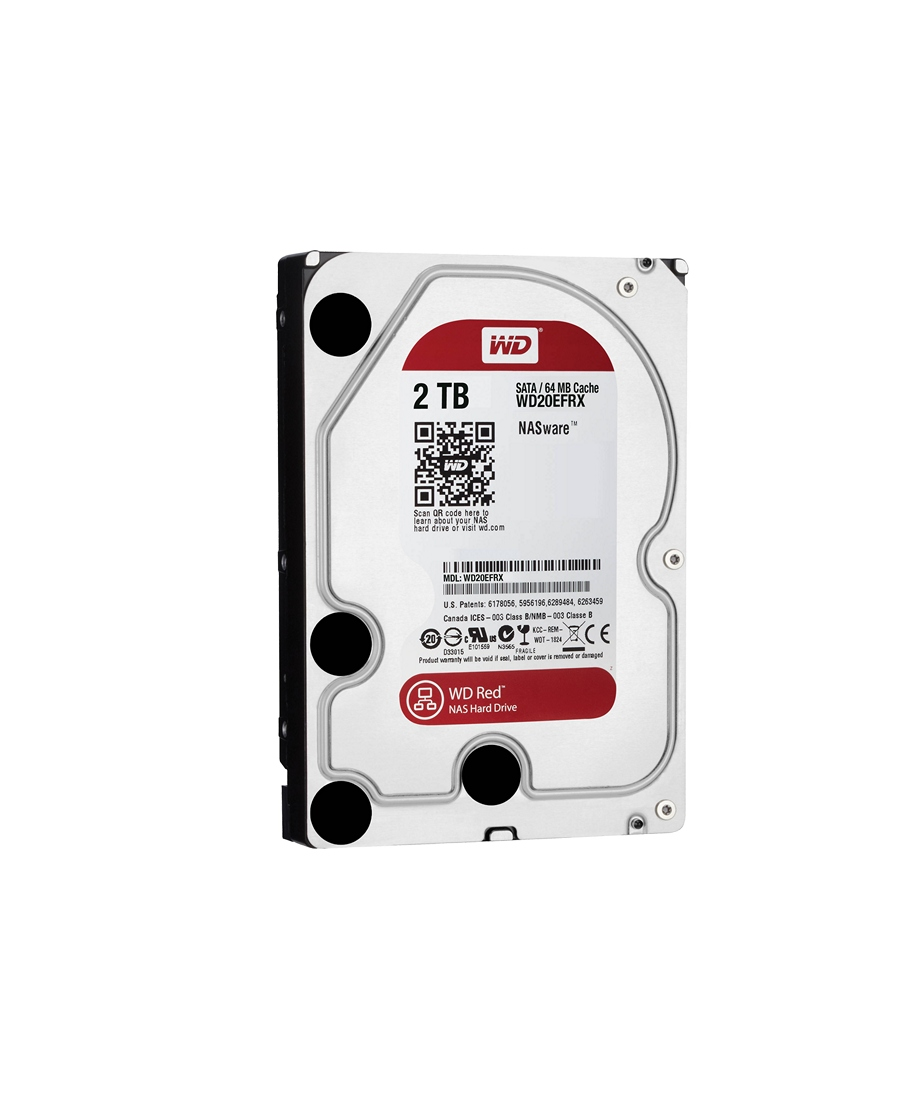 Hard Disk Western Digital 2Tb WD20EFRX Red