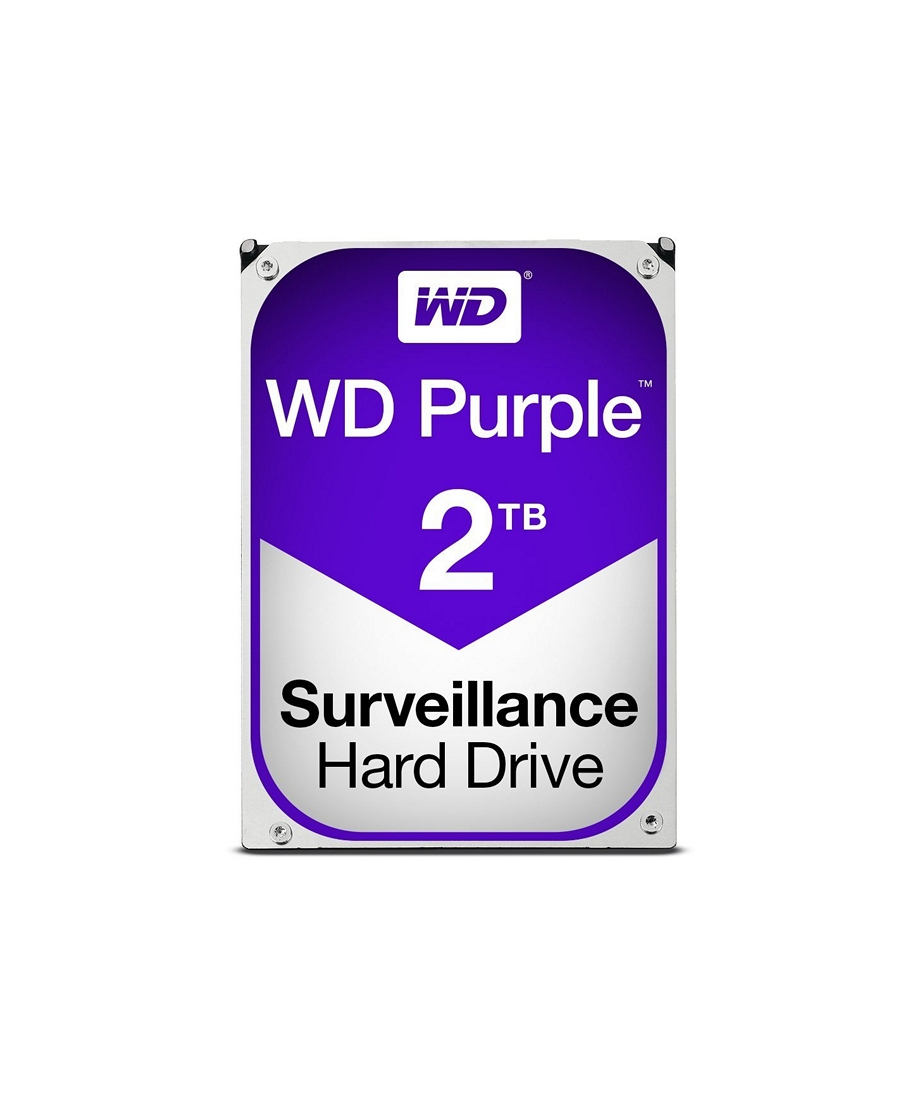 Hard Disk Western Digital 2Tb WD20PURZ Purple