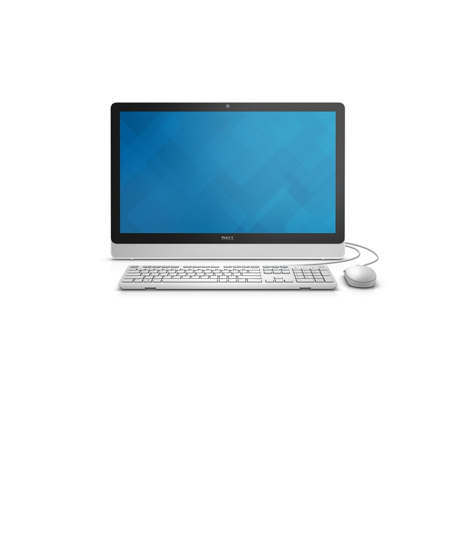 All-in-one Dell Inspiron 3464 FullHD White