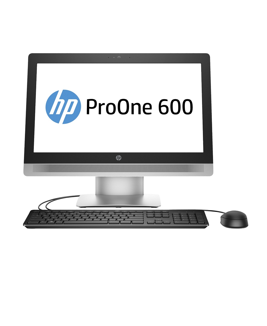 All-in-one HP ProOne 600 Silver-Black