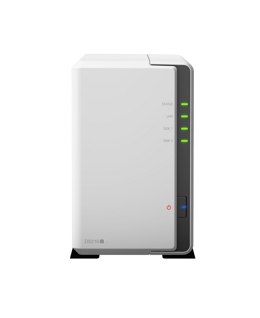 NAS Server 2-bay Synology DS216j