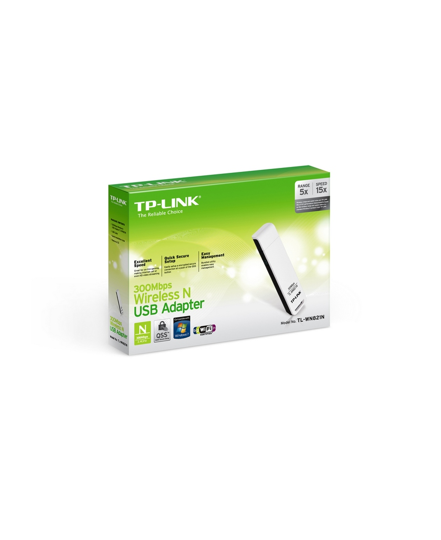 Adaptor USB Wireless TP-LINK TL-WN821N