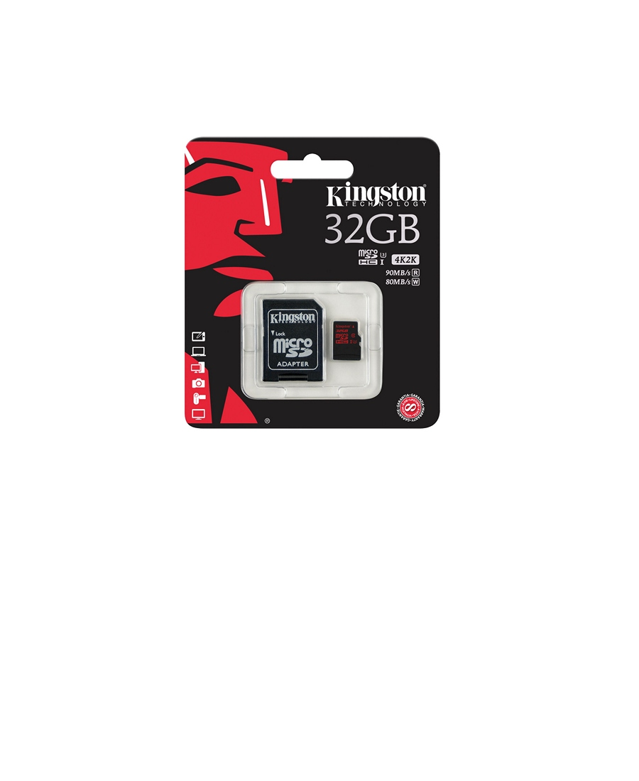 MicroSDHC Kingston 32Gb Class 10 Ultimate UHS-I U3