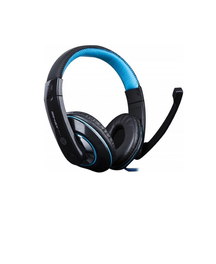 Headset Gaming Marvo Ice Dragon ASH-221 Black-Blue