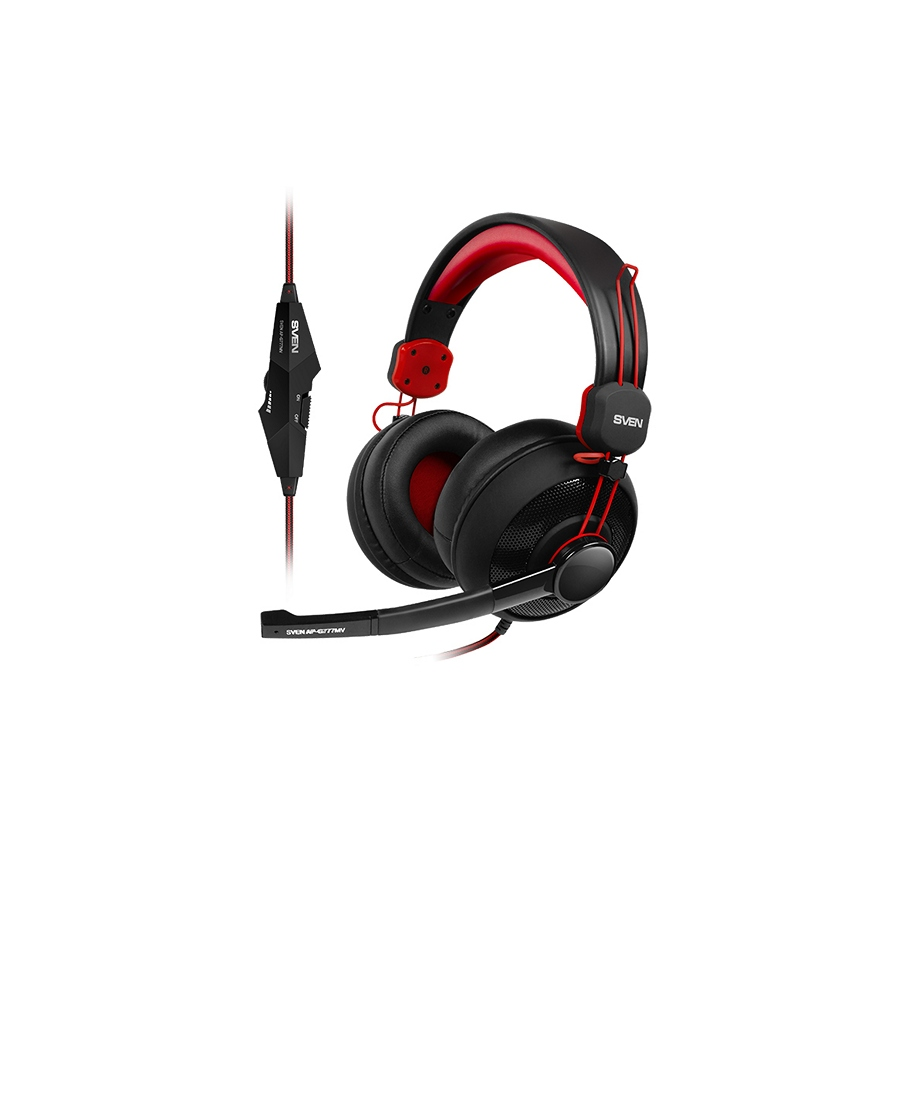 Headset Gaming Sven AP-G777MV Black-Red