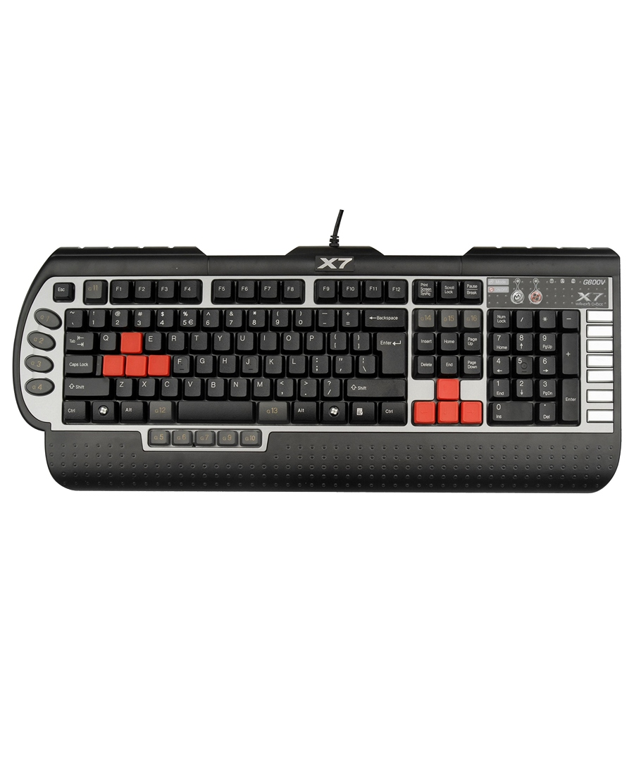 Tastatura A4tech A4-X7-G800V Black