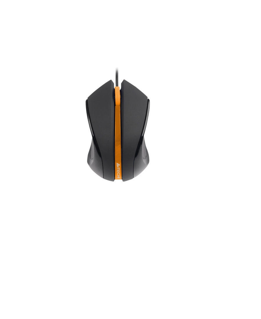 Mouse A4Tech N-310-1 Black-Orange