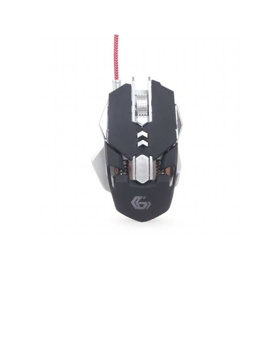 Mouse Gembird Gaming MUSG-05 Black-Silver