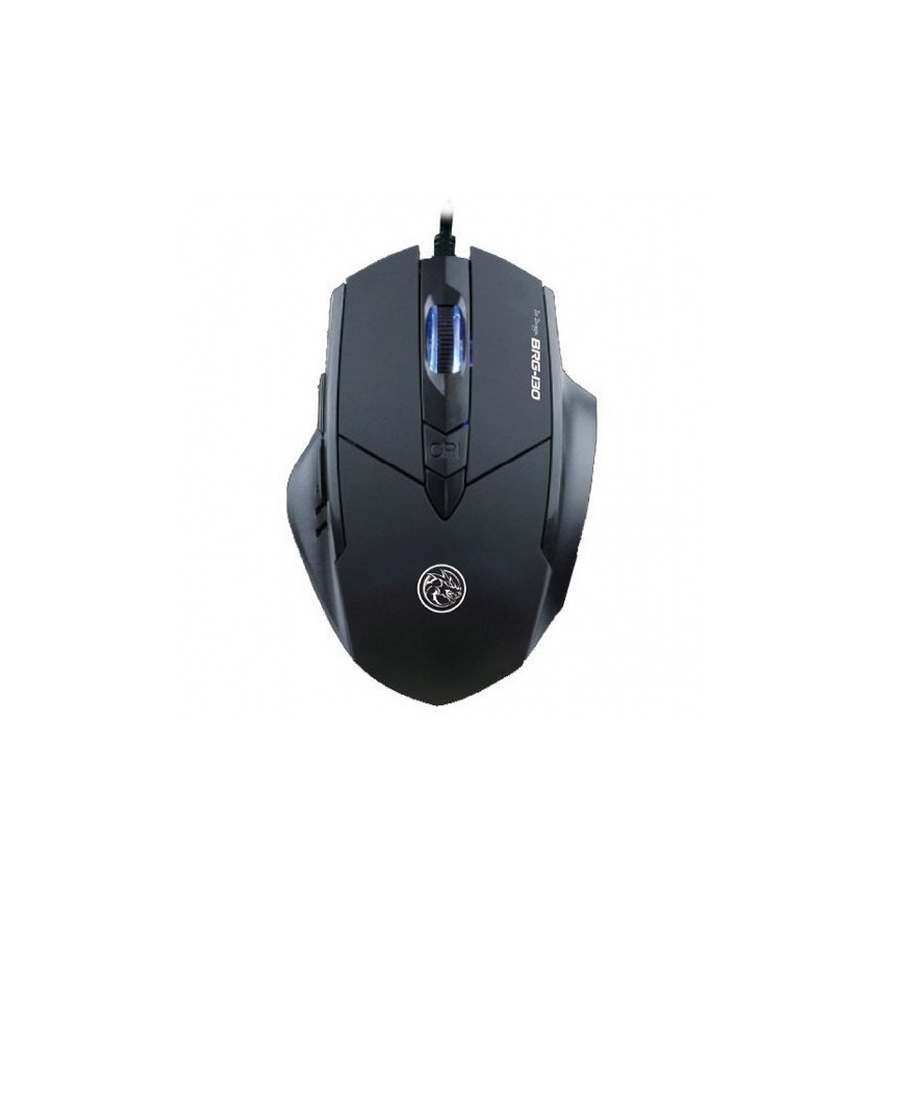 Mouse Marvo Ice Dragon BRG-130 Gaming Black