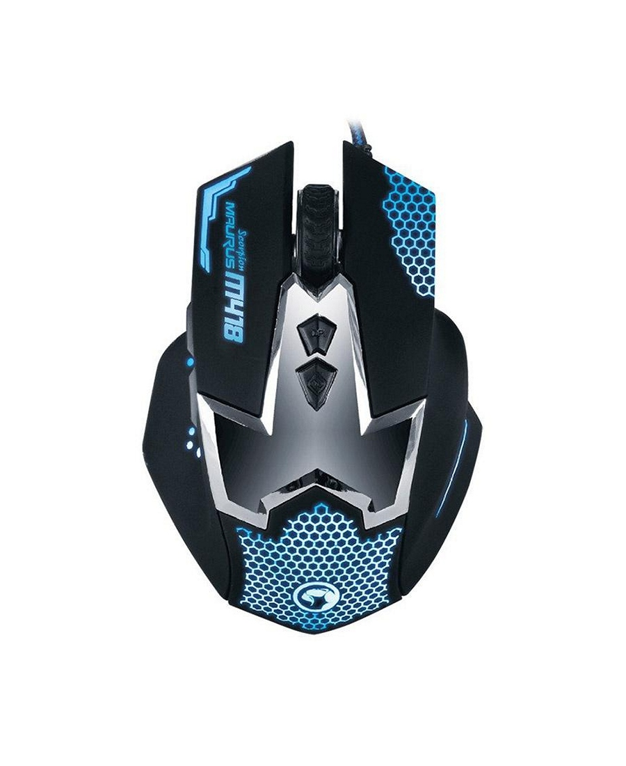 Mouse Marvo M418 Gaming Black
