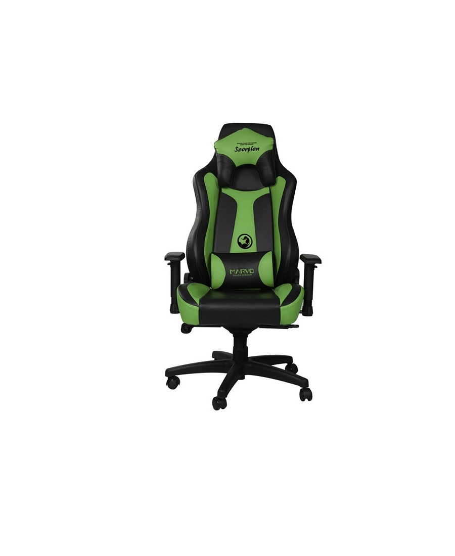 Scaun Gaming Marvo CH-101 Black-Green