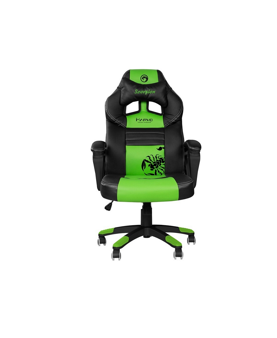 Scaun Gaming Marvo CH-105 Black-Green