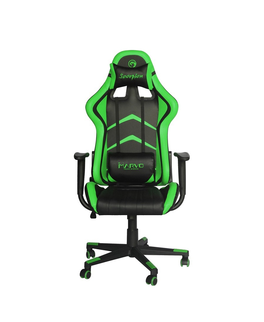 Scaun Gaming Marvo CH-106 Black-Green