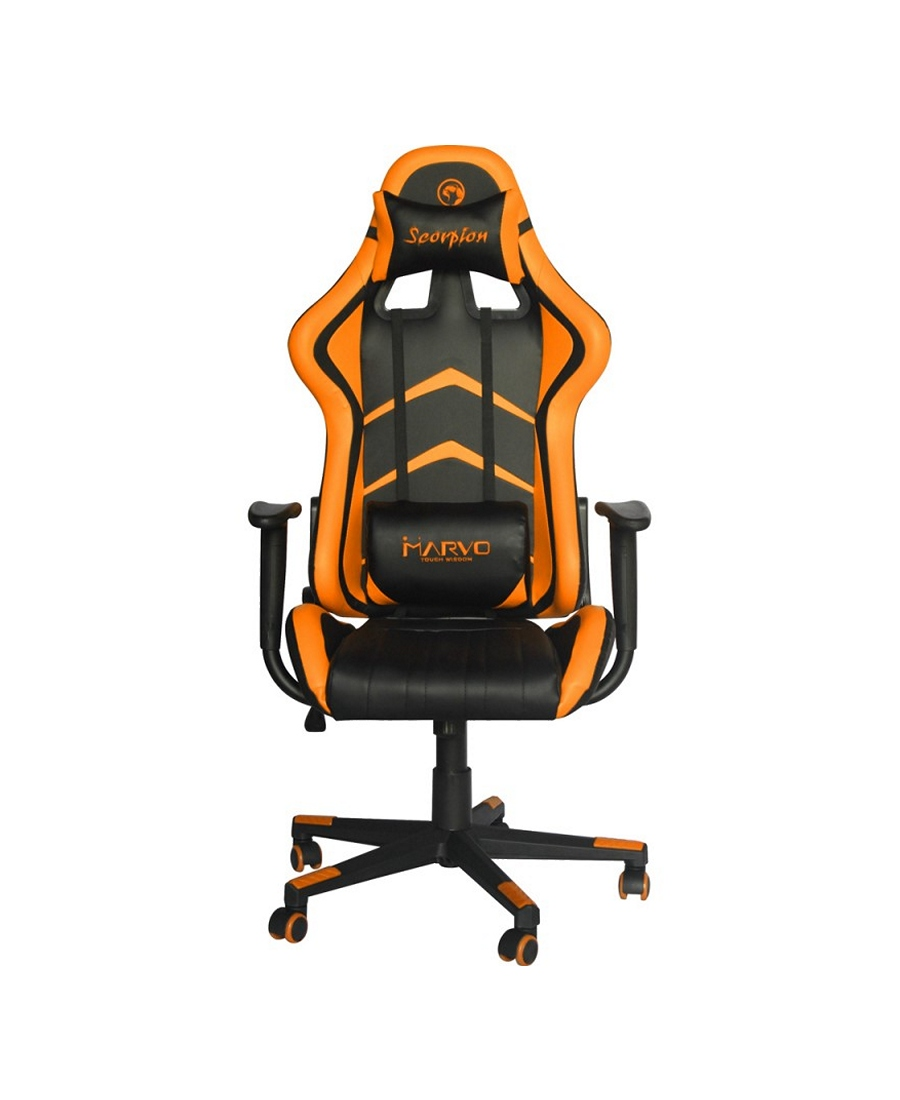 Scaun Gaming Marvo CH-106 Black-Orange
