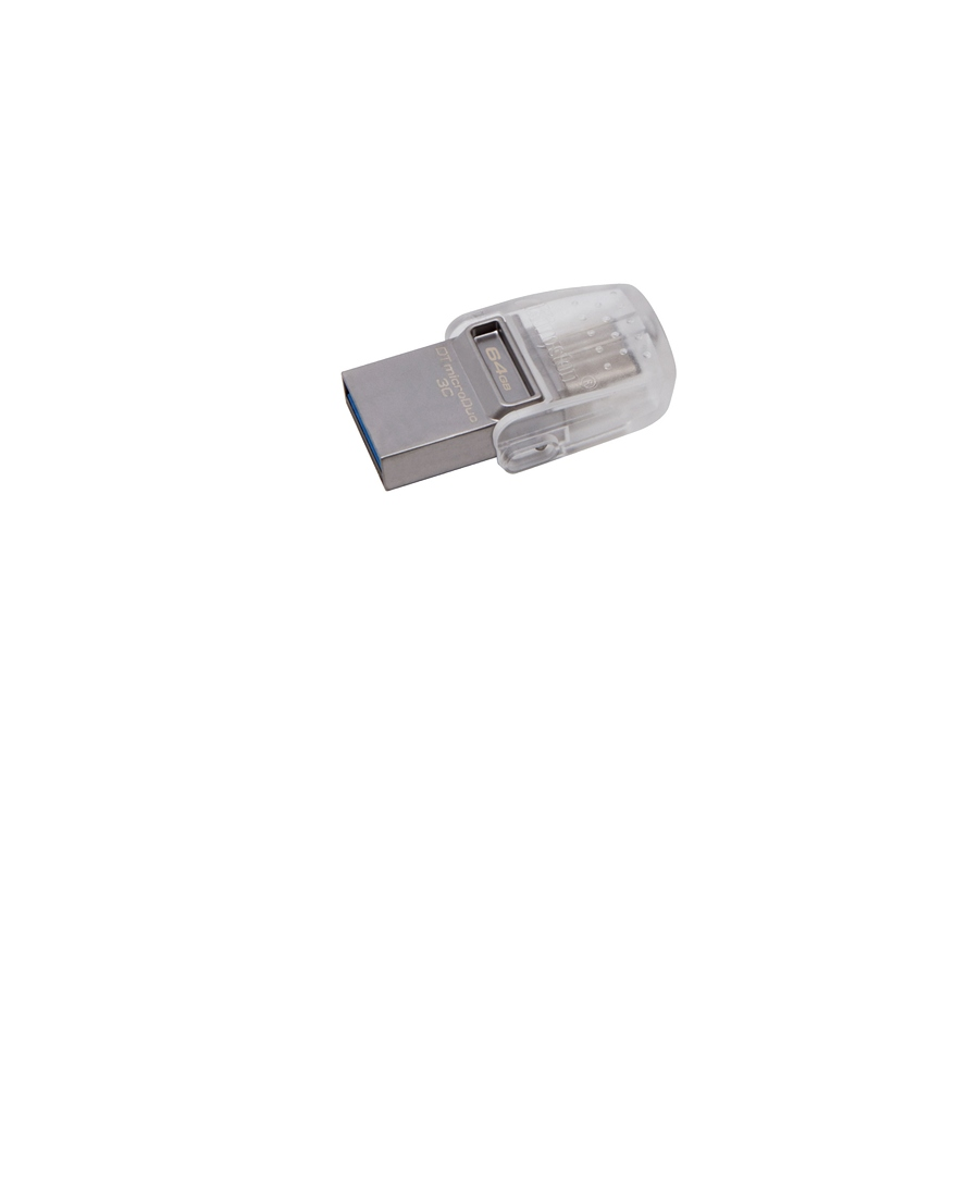 USB Flash 64Gb Kingston DataTraveler MicroDuo OTG
