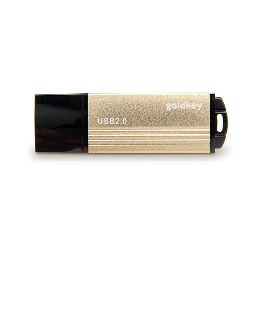 USB Flash Drive 8Gb Goldkey Gold