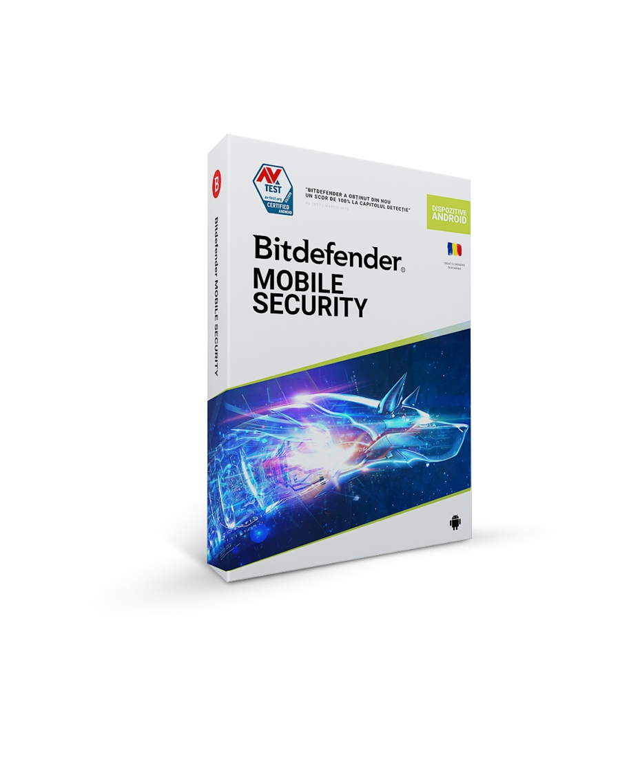 Bitdefender Mobile Security For Android, 1 An, 1 D