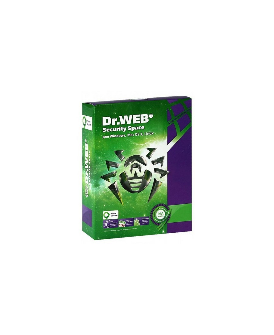 Dr.Web Security Space, 4PC, 1An